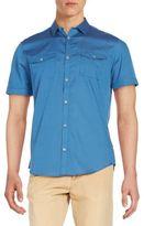 Calvin Klein Slim-Fit Cotton Sportshirt