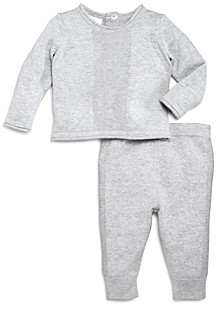 Bloomie's Unisex Crewneck Sweater & Pants Set - Baby