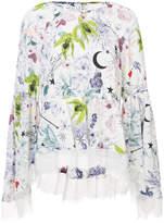 Cinq à Sept floral printed blouse