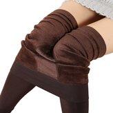 Tawill Women Autumn Winter Elastic Warm Anti-pilling Skinny Leggings Thick Pants