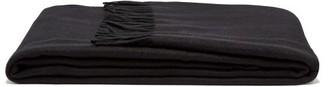 Frette Fringe-trim Cashmere Blanket - Black