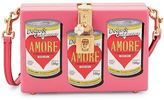 Dolce & Gabbana Soup Can Acrylic Box Crossbody Bag