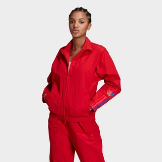 adidas Women's Adicolor 3D Trefoil Track Jacket