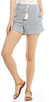 Copper Key Striped Tassel Soft Shorts
