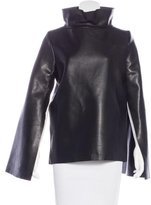 J.W.Anderson Leather Long Sleeve Top