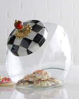 Mackenzie Childs MacKenzie-Childs Courtly Check Cookie Jar