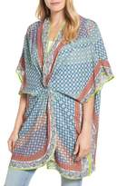 Echo Women's Harbour Foulard Twist Cover-Up Caftan