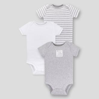 Lamaze Baby 3pk Essential Organic Cotton Bodysuit -