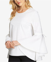 1 STATE 1.STATE Cascading Bell-Sleeve Top