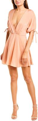 Amanda Uprichard Silk A-Line Dress