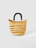 Savanna Baskets Lace Straw Basket