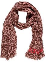 Louis Vuitton Cashmere & Silk Leopard Stole