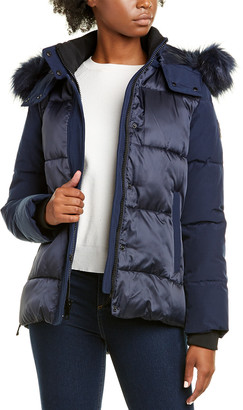 Nine West Short Hooded Jacket