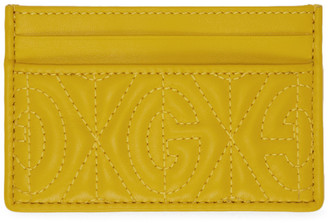 Gucci Yellow GG Card Holder