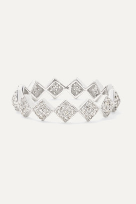 Ofira Tattoo 18-karat White Gold Diamond Ring - 3