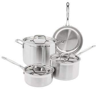 Cuisinart MultiClad Pro Triple Ply 7-Piece Cookware Set