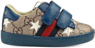 Gucci Toddler Ace GG stars sneaker