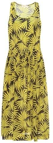 Diane von Furstenberg Printed cotton and silk dress