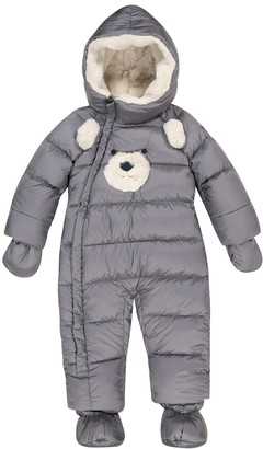Il Gufo Baby hooded down snowsuit