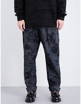 Anglomania Dietrich regular-fit cotton trousers