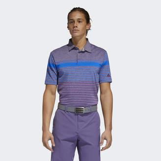 adidas Ultimate365 Engineered Heathered Polo Shirt