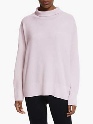 Eileen Fisher Funnel Neck Box Top, Ceramic