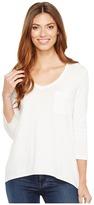 Lilla P 3/4 Sleeve V-Neck Women's Clothing