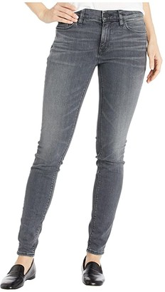 Hudson Nico Mid-Rise Super Skinny in Jet Fuel (Jet Fuel) Women's Jeans