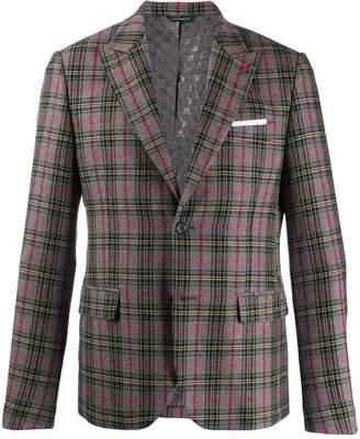 Daniele Alessandrini check pattern blazer