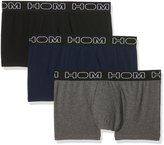 Hom Boxerlines 3-Pack Basic Men's Boxer Trunks