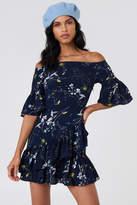 Lucca Couture Emilia Ruffle Mini Dress