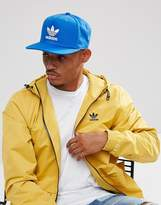 Adidas Originals Trefoil Cap In Blue