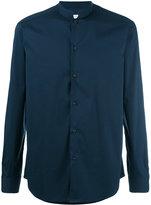 Paolo Pecora mandarin collar shirt - men - Cotton/Polyamide/Spandex/Elastane - 43