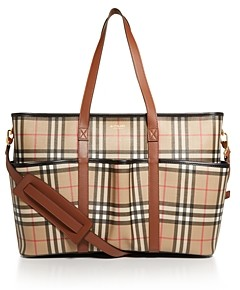 Burberry Parker Vintage Check Diaper Bag