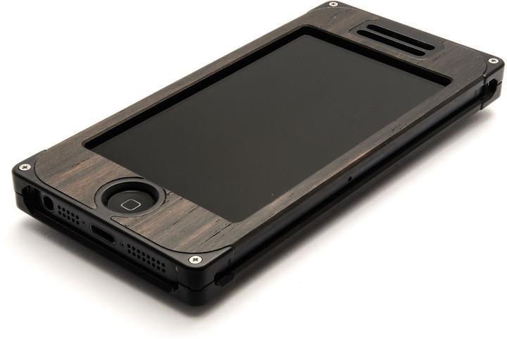 EXOvault EXO16 iPhone 5 Aluminum Ebony