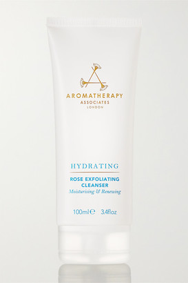 Aromatherapy Associates Rose Exfoliating Cleanser, 100ml - Colorless