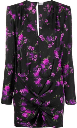 Magda Butrym Pesaro floral print dress