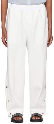 Issey Miyake Off-White Dense Jersey Lounge Pants