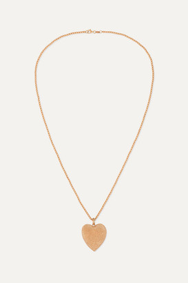 Carolina Bucci Florentine 18-karat Rose Gold Necklace