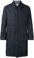 MACKINTOSH single breasted coat - men - Cotton - 36