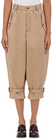 Comme des Garcons Women's Cotton Baggy Trousers-TAN