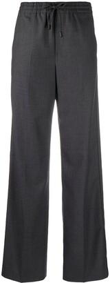 Maison Margiela Tie-Waist Wool Trousers