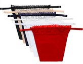 Nobrand 6 Pack Lace Clip-on Mock Camisole Overlay Modesty Panel