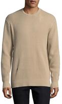 Zanerobe Waffle-Knit Crewneck Sweater