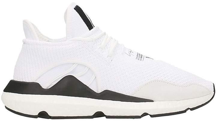Y-3 Saikou White Mesh Sneakers