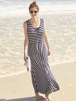 White Stuff Luna stripe jersey maxi dress