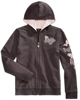 GUESS Butterfly Cotton Hoodie, Big Girls (7-16)
