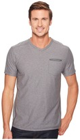 The North Face Short Sleeve FlashDry Heather V-Neck Men's Short Sleeve Pullover