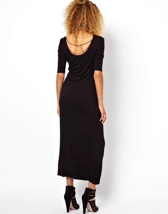 Brave Soul Chain Back Maxi Dress