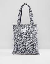 Jack Wills Ambleshire Navy Floral Book Bag